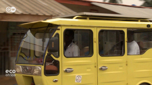 In Ivory Coast, Marc Togbe is working on three-wheeled solar-powered taxis that are cheap and comfortable.