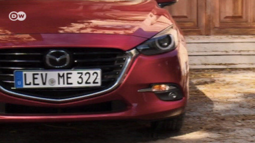 The Mazda 3 has been given a slight facelift.