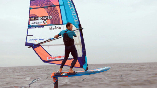 Hovering above the water: Hydrofoil Surfing