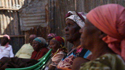Elderly women of Nairobi learn self-defense against rapists who consider them easy targets