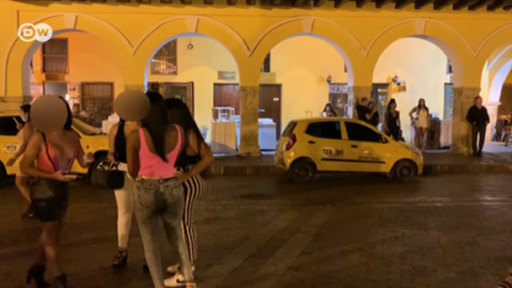 Cartagena has become a hotspot of sex tourism. A campaign aims to raise awareness about exploitation.