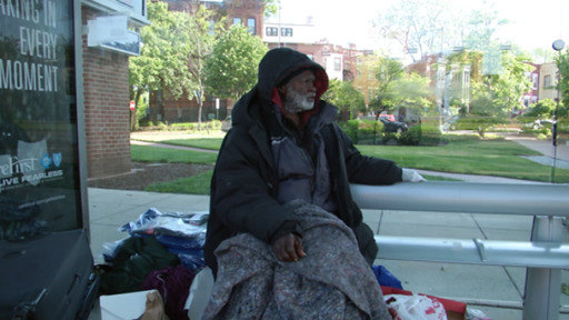 In the US, the coronavirus presents a challenge to the homeless, who lack health care and even basic hygiene.