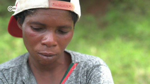DW's Mariel Müller met and spoke to Mama Faida, a fighter bearing the scars of the regional conflict.