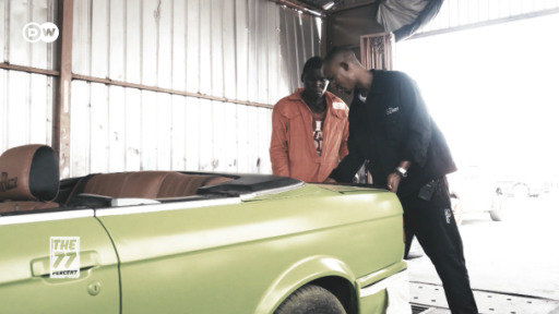 Afam Dozie loves restoring old vintage cars and giving them a second life.