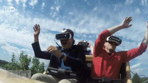 Germany's biggest amusement park now offers roller coaster rides with head-mounted displays.