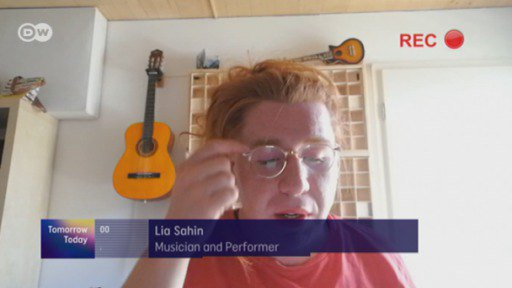 Lia Sahin is a beatboxer, musician and performer. She's a 28-year-old transgender woman and was born a boy.