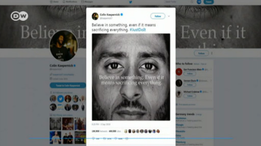 6f0de73ec4c Nike ad campaign with Kaepernick sparks controversy | Sports| German  football and major international sports news | DW | 04.09.2018