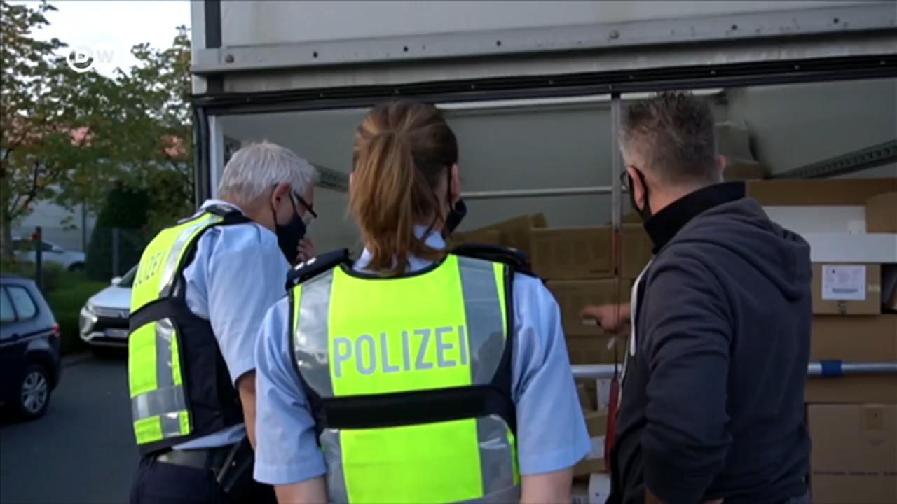 Police zeroes in on delivery industry