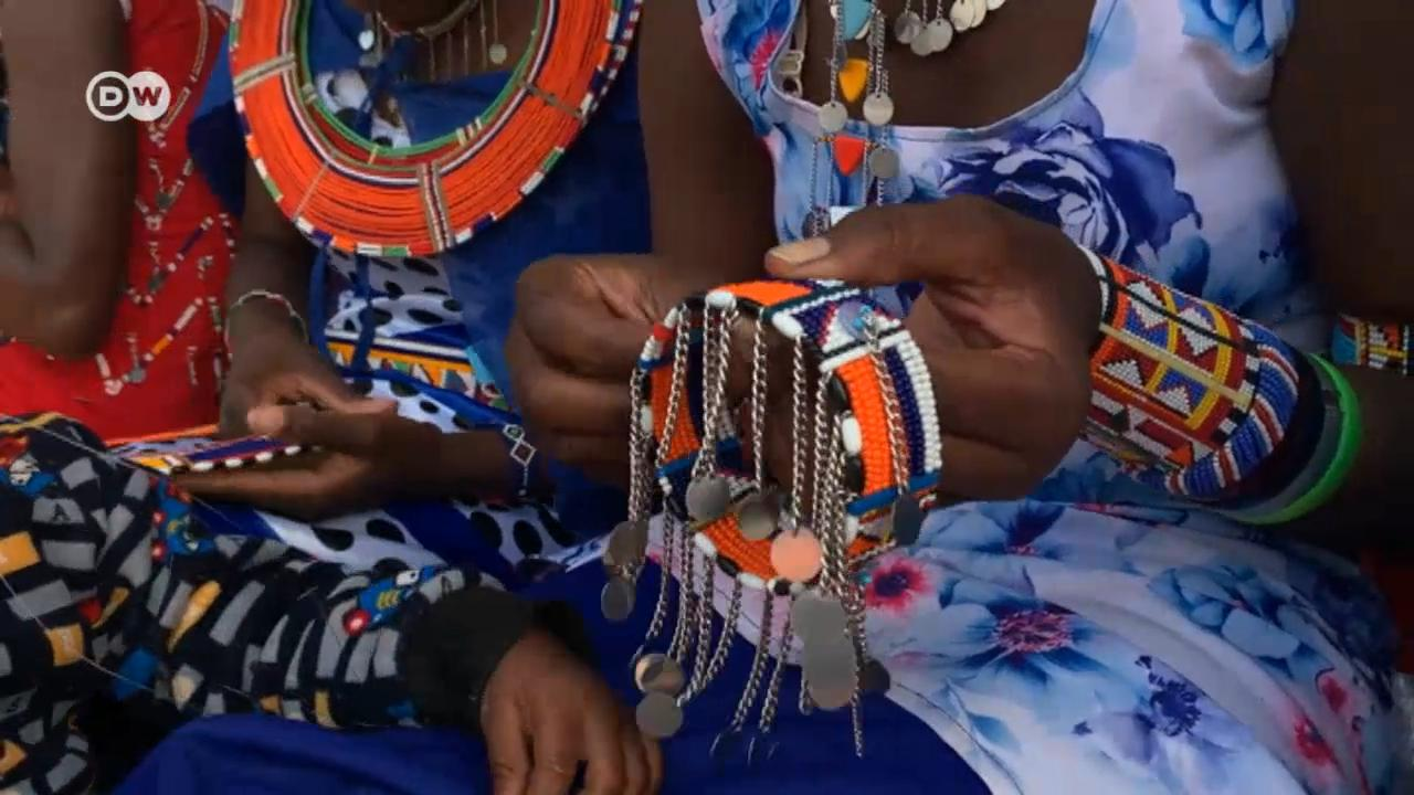 As puberty starts, Maasai girls are gifted with beads. It means they are ready for marriage and FGM can target them.