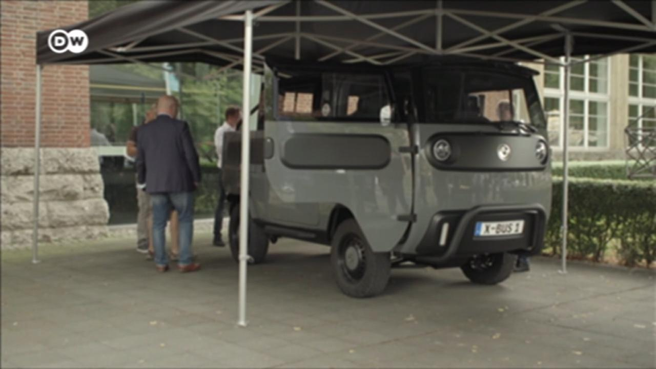 Electric Brands unveils solar-powered vehicle