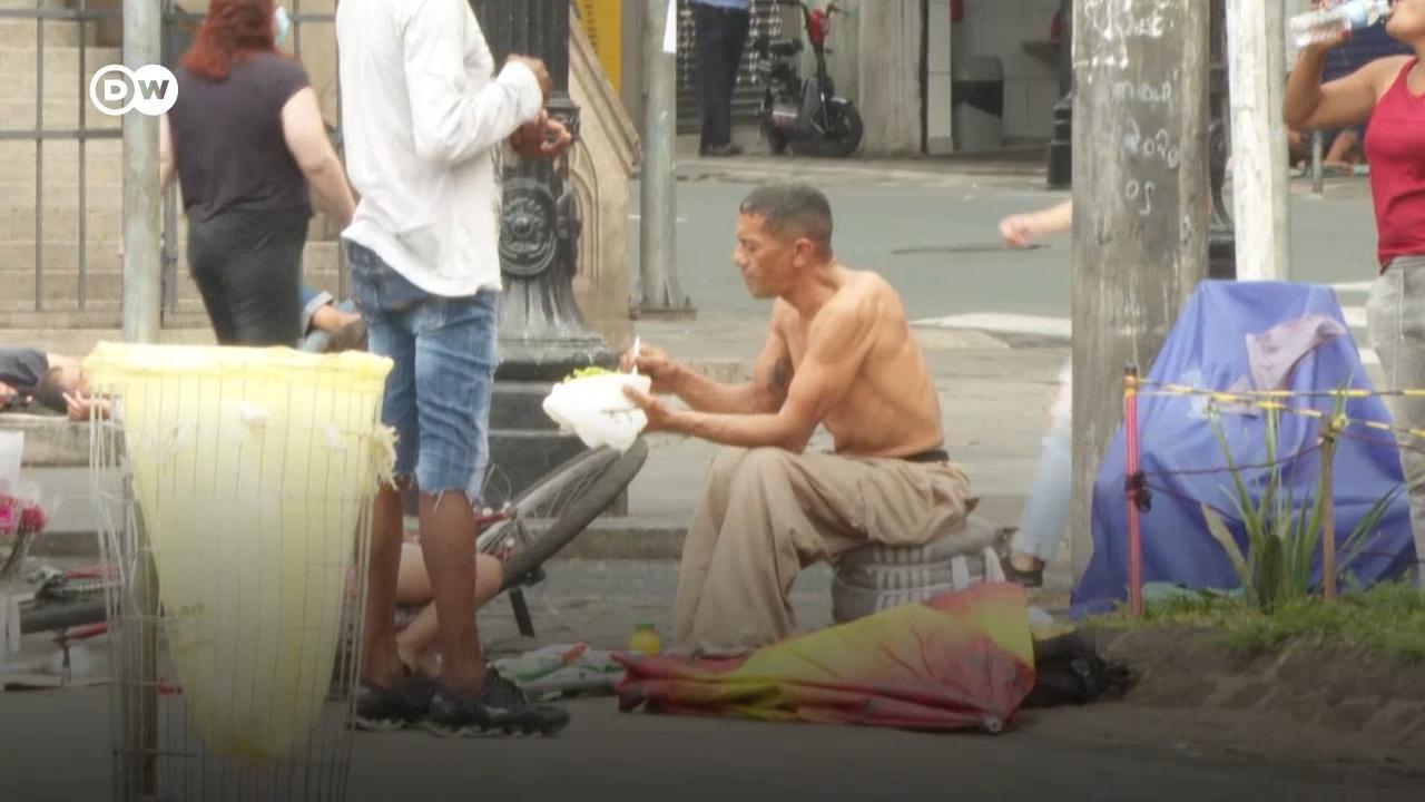 Pandemia agrava crise econômica no Brasil