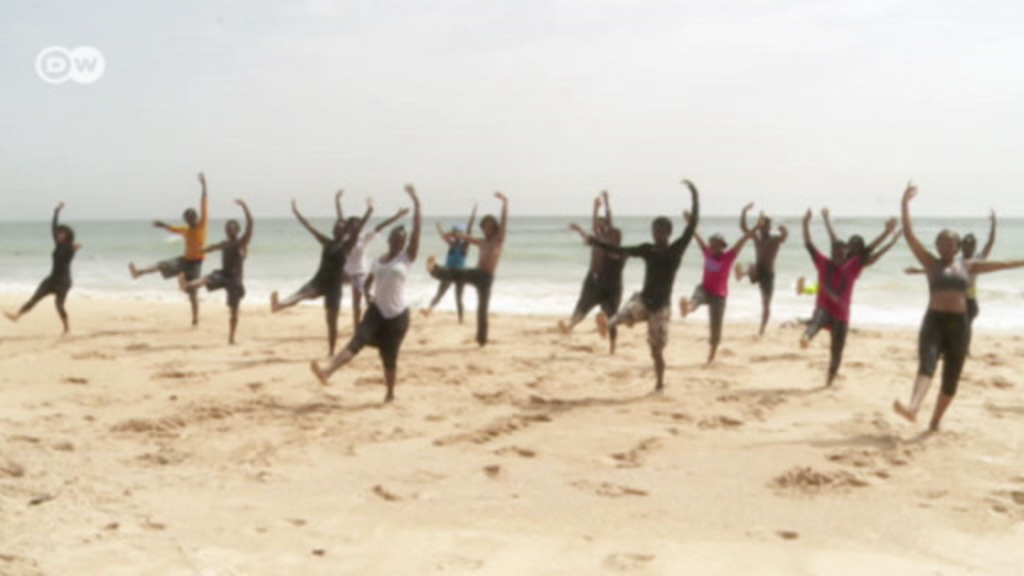 Dance school in the sands of Senegal